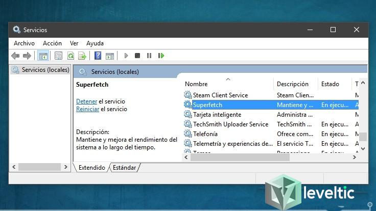 Qué es SuperFetch de Windows 10 y para qué sirve