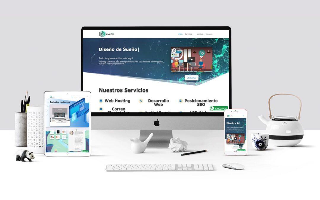 Leveltic sitio web